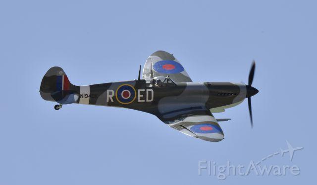 Experimental 100kts-200kts (N1940K) - Deford MK-1X Spitfire replica