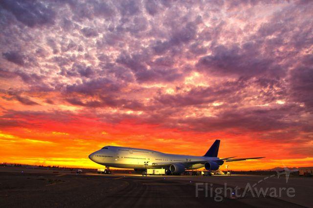 BOEING 747-8 — - 747-8i under flight test, summer 2011