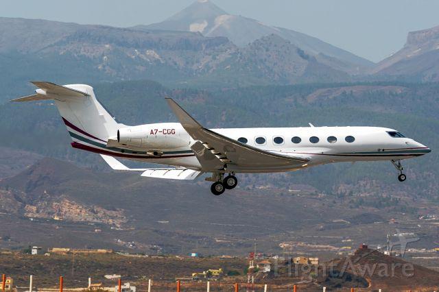 Gulfstream Aerospace Gulfstream G650 (A7-CGG)