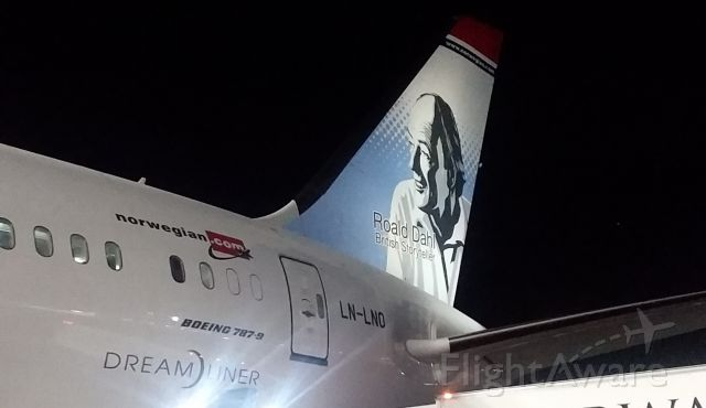 Boeing Dreamliner (Srs.8) (LN-LNO) - Terminal One JFK IAP