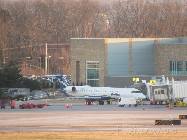 Canadair Regional Jet CRJ-700 (N752SK) - About To Leave For CLT