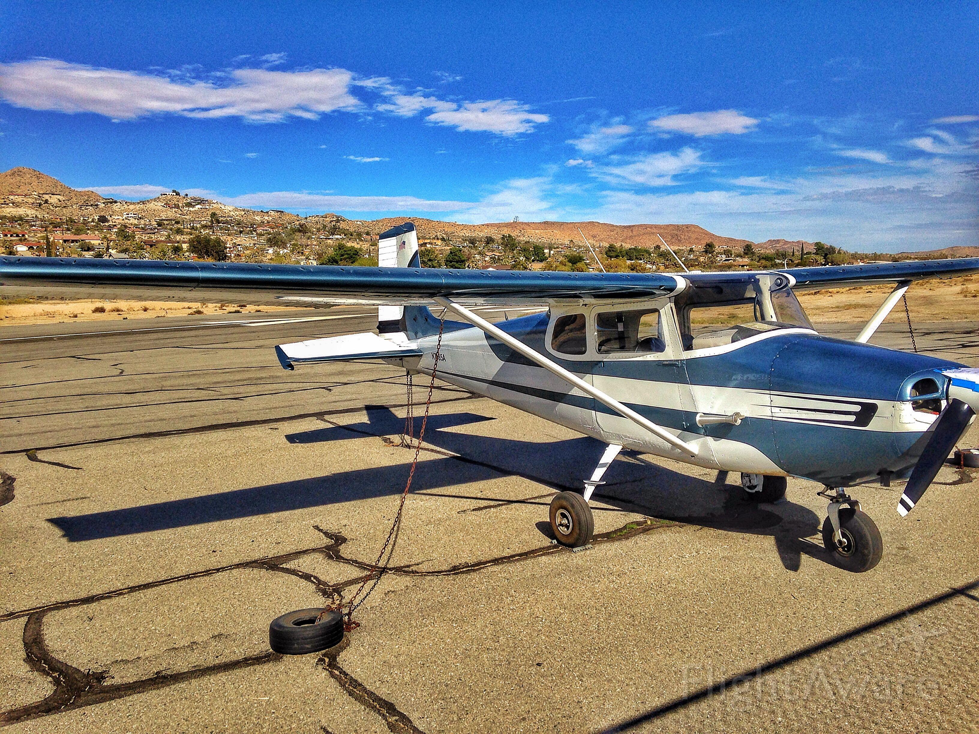 N7485A — - N7485A - 1956 Cessna 172 at L22 Yucca Valley CA