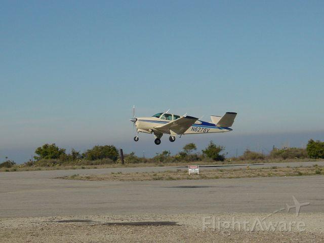 Beechcraft 35 Bonanza (N6278V) - Jerry on the go at Catalina