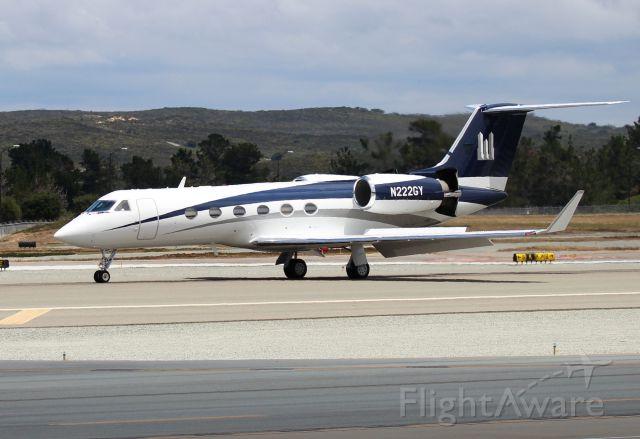 Gulfstream Aerospace Gulfstream IV (N222GY) - KMRY - 2015