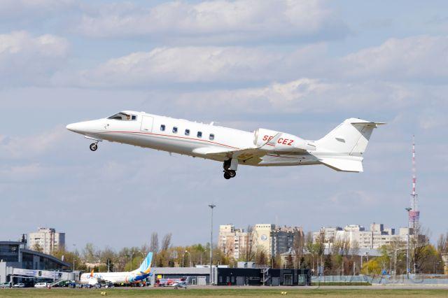 Learjet 60 (SP-CEZ)