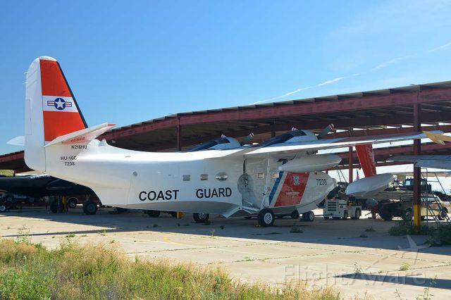 N216HU — - Grumman HU-16 Albatross N216HU in the Lauridsen collection at Buckeye Municipal Airport, Arizona on February 18, 2015.