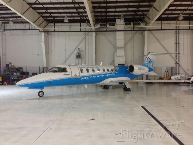 Learjet 45 (N45YF)