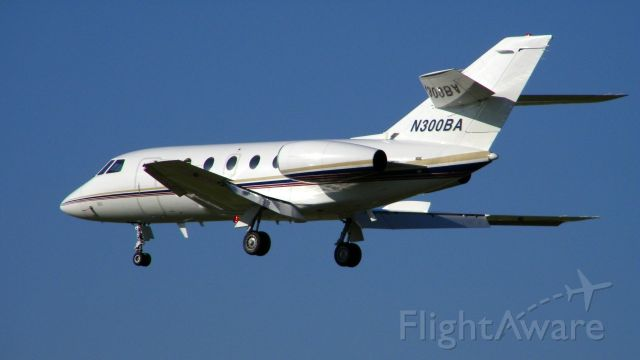 AMERICAN AIRCRAFT Falcon XP (N300BA) - On approach to HOU