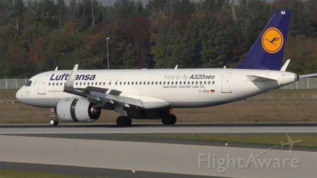 Airbus A320 (D-AINA)