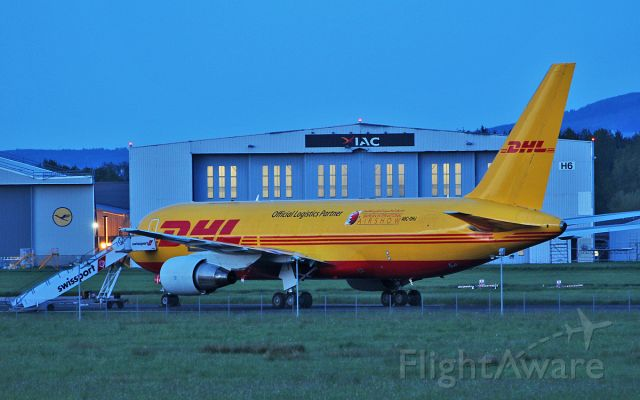 BOEING 767-200 (A9C-DHJ) - dhl b767-281(bdsf) a9c-dhj at shannon this evening 14/5/18.