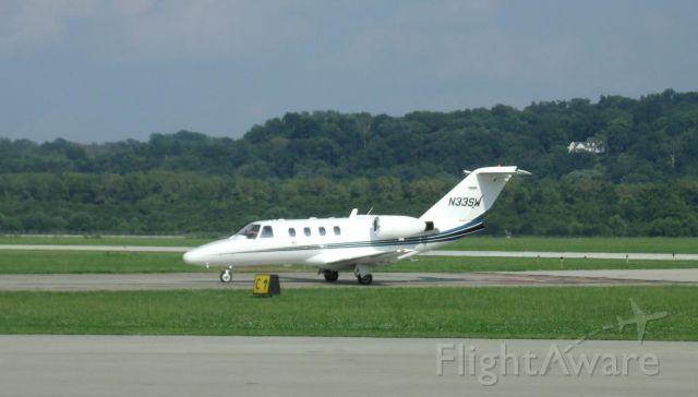 Cessna Citation CJ1 (N33SW) - Taxiing back after landing