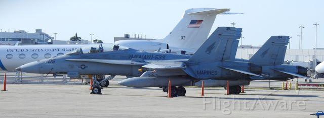 McDonnell Douglas FA-18 Hornet (USMC05) - 3/8/2020