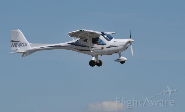 Experimental <100kts (N84GX) - Departing KLVJ runway 14