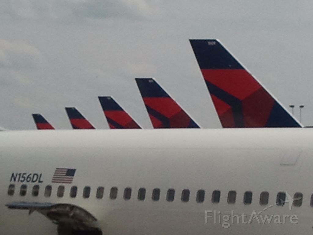 — — - Delta jets ready to fly