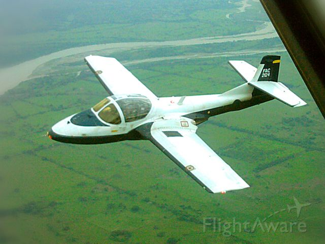 """Cessna 318C (FAC2124) - Colombia Air Force """"Tango"""""""