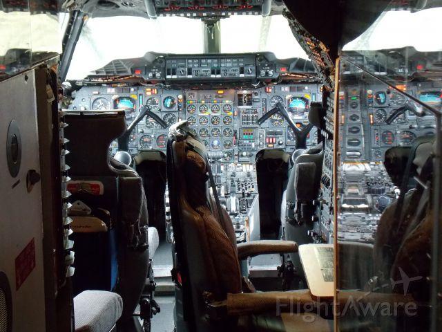 Aerospatiale Concorde (G-BBDG) - Cockpit of the Concorde G-BBDG at Brooklands Air an Technik Museum