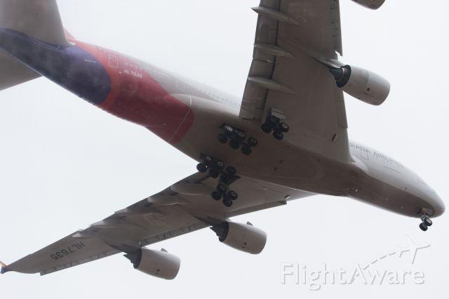 Airbus A380-800 (HL7635) - 201511150904