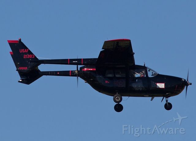 "Cessna 336 Skymaster (N1166B) - Oscar Deuce arriving for the Alliance Fort Worth Airshow 10/10/2018 (Please view in ""full"" for highest image quality)"