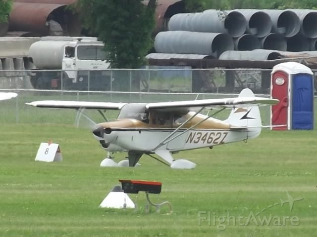 Piper PA-22 Tri-Pacer (N3462Z) - During the 2013 Sentimental Journey