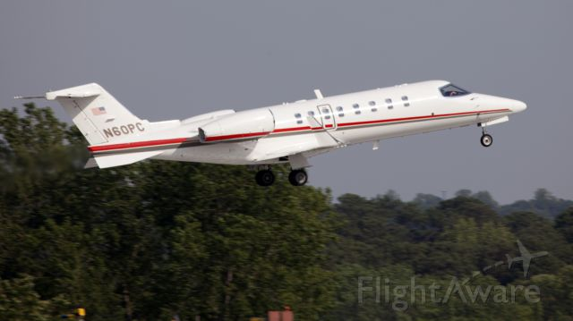 Learjet 45 (N60PC) - No location as per request of the aircraft owner.