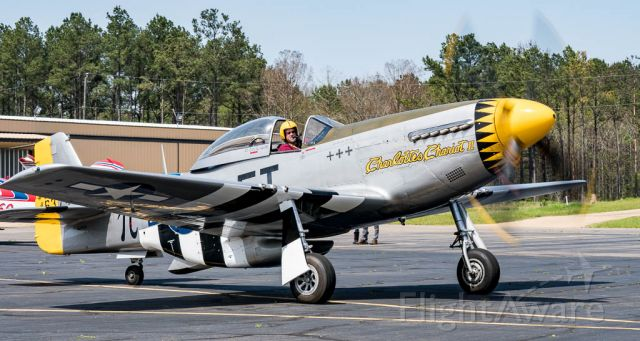 North American P-51 Mustang (N251CS)