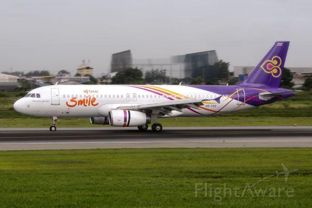 Airbus A320 (HS-TXC) - 13th August, 2019