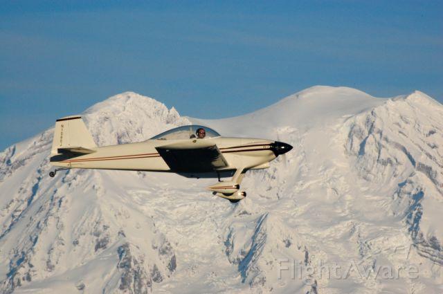 Vans RV-4 (N1080J) - Near Mt Rainier in Washington