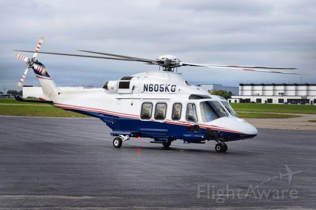 BELL-AGUSTA AB-139 (N605KG) - Agustawestland Philadelphia AW139 <br />RotorKraft Trust / Kraft Group