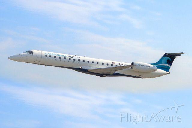 Embraer ERJ-145 (N286SK) - California Pacific Airlines departing Kennesaw, GA