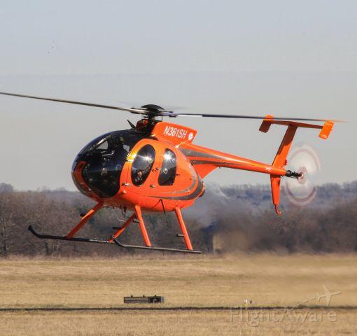 N361SH — - KBFS MD530F returning from a training flight