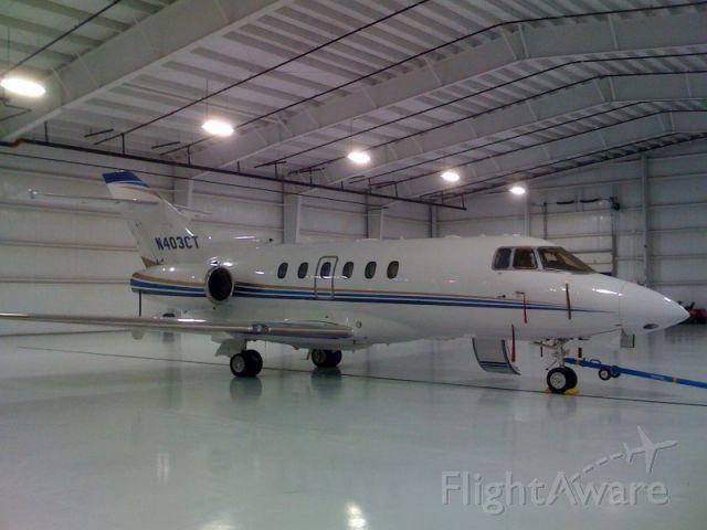 Raytheon Hawker 800 (N403CT)