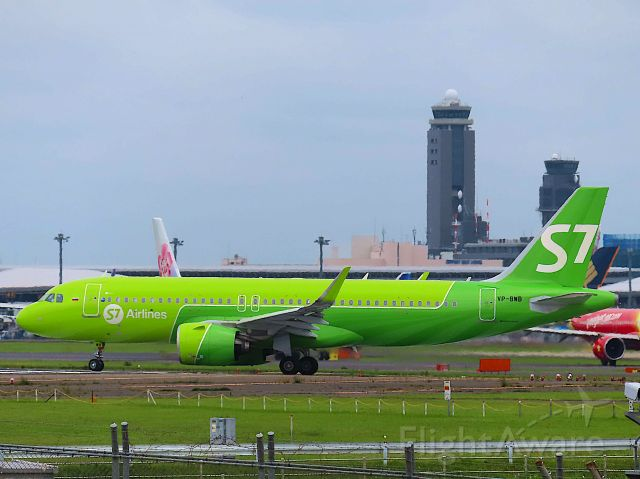 Airbus A320neo (VP-BWB) - I took this picture on Jun 09, 2019.br /S75772/9Jun NRT-OVB