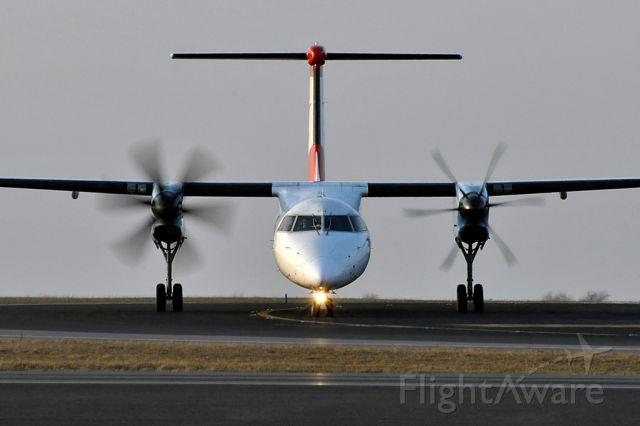 de Havilland Dash 8-400 (OE-LGJ) - De Havilland Canada DHC-8-402Q Austrian Arrows (March 2010)