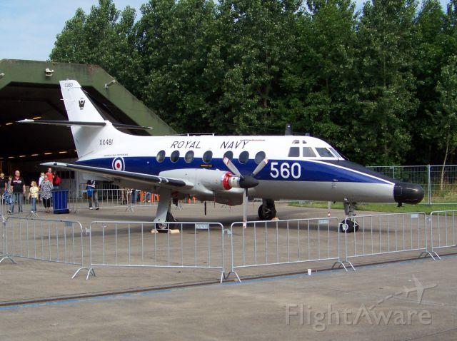 British Aerospace Jetstream 31 (XX481)