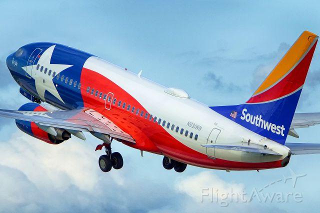 Boeing 737-700 (N931WN) - 4 departure.
