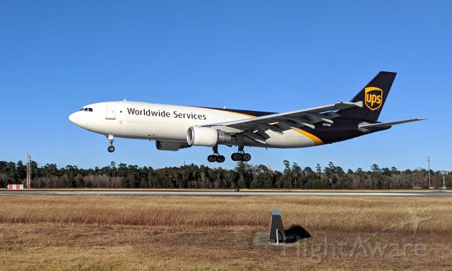 Airbus A300F4-600 (N137UP) - Christmas packages arriving