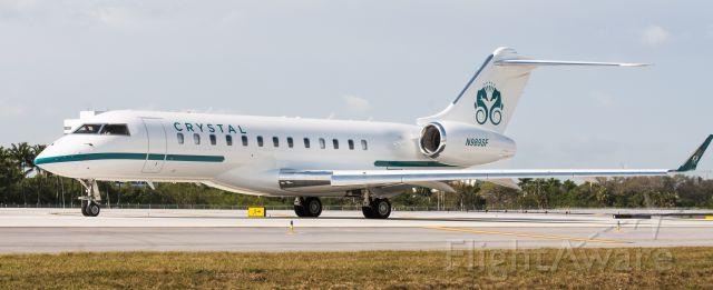 Bombardier Global Express (N989SF) - Crystal Luxury Air Global Express XRS