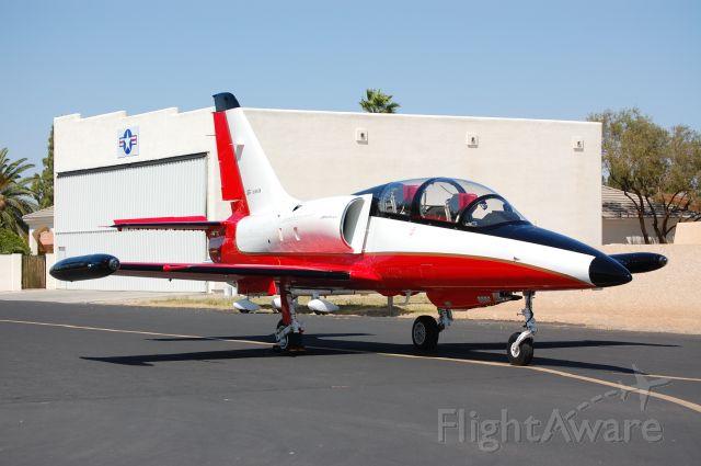 "Aero L-39 Albatros (N391ZA) - ""Red Jet"" based at Stellar Airpark, Chandler, AZ"