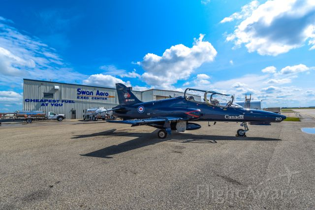 15-5210 — - CT-155 Hawk Trainer Jet