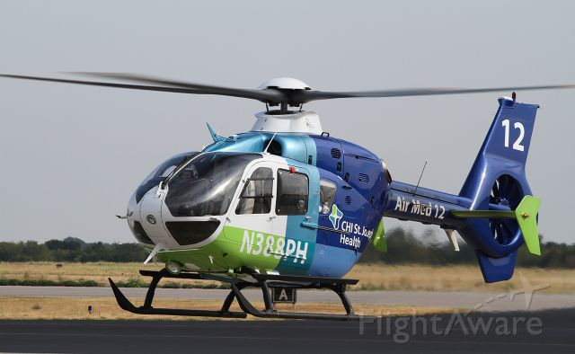 N388PH — - Med 12 landing at KTPL to refuel