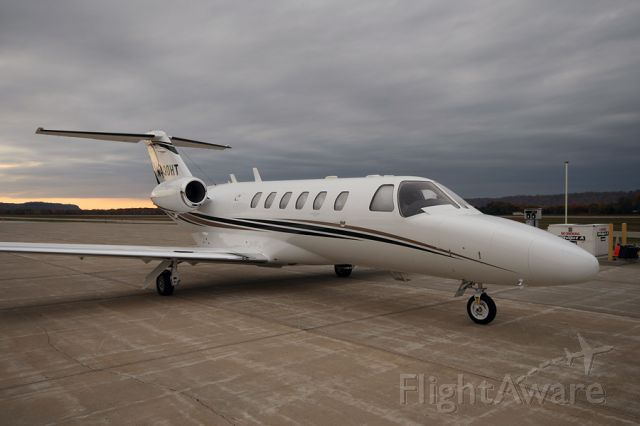 Cessna Citation CJ2+ (N400HT) - On the ramp in the middle of no where