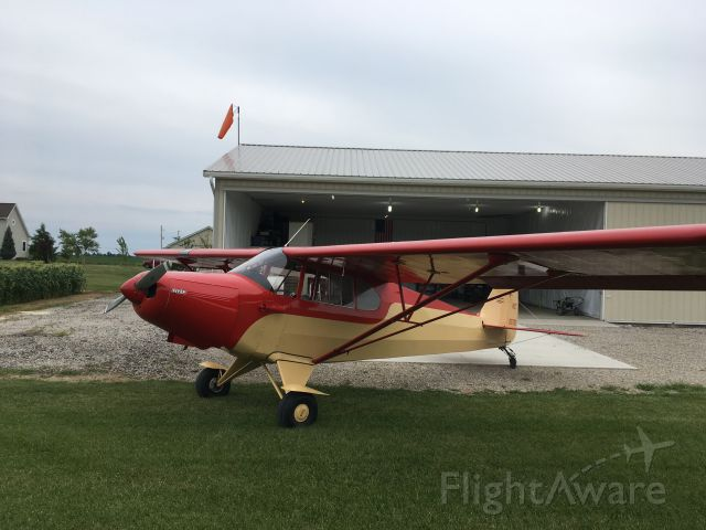Piper PA-12 Super Cruiser (N92792)