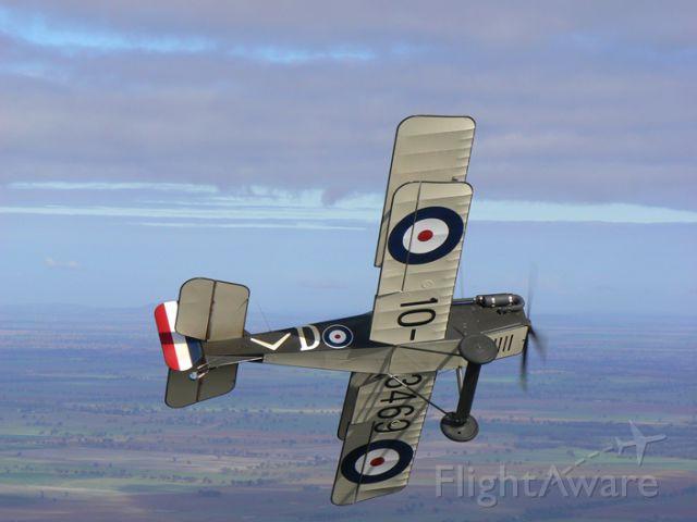 RAF (1) SE-5A Replica — - Break-away
