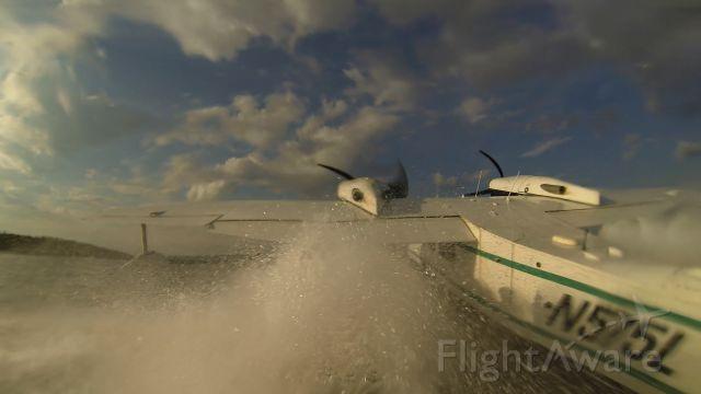 Grumman G-44 Widgeon (N575L) - Taking off at Harding Lake, Alaska