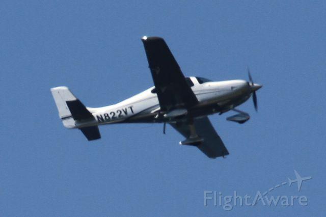 Cirrus SR-22 (N822VT) - Over Mercer Island, WA