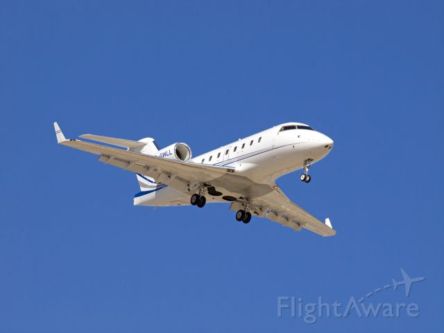 Canadair Challenger (C-GWLL) - Spotting