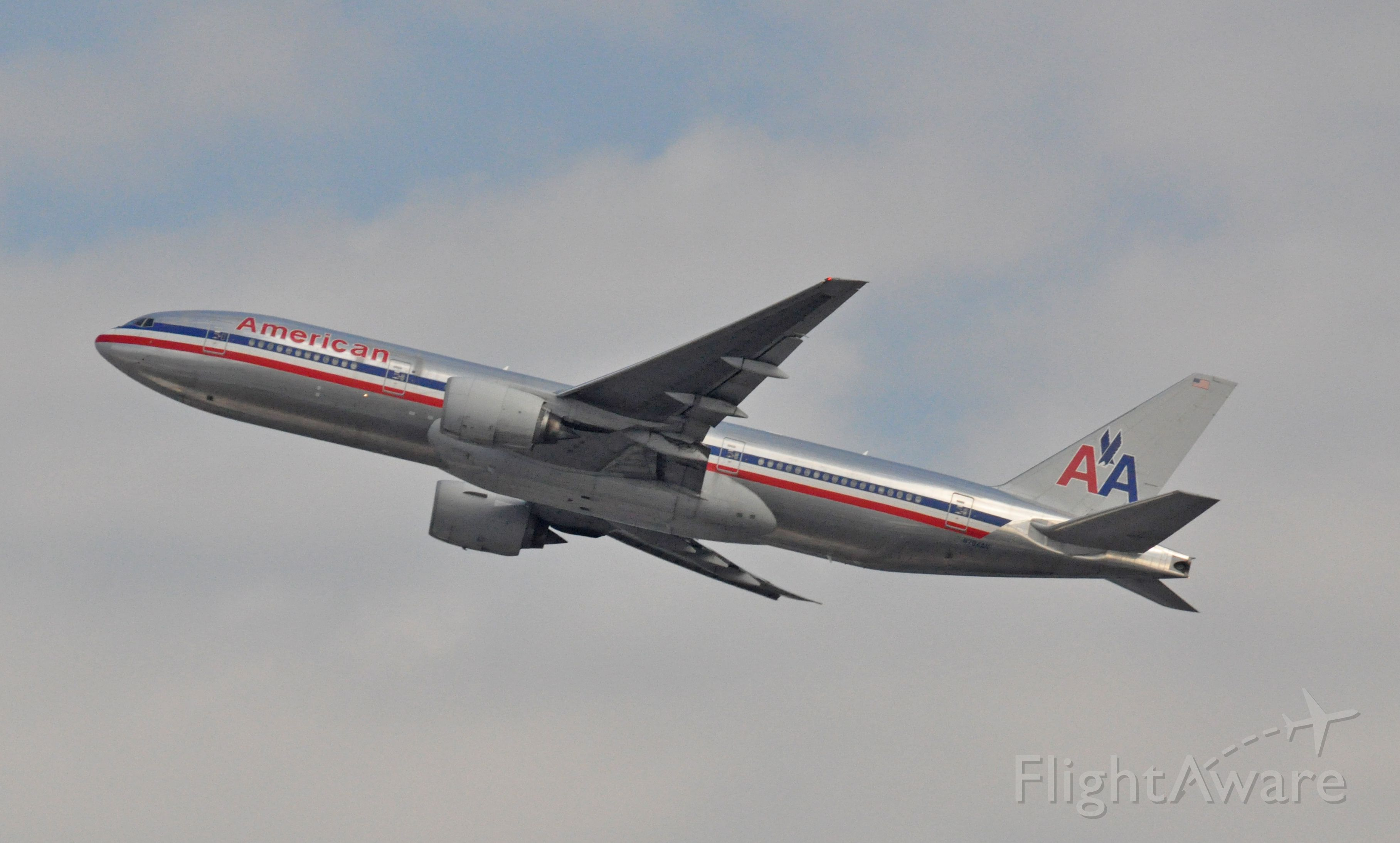 Boeing 777-200 (N794AN) - Imaged on 1/13/12