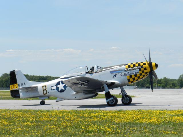 North American P-51 Mustang (46-3684) - AIR SHOW TRENTON 2016