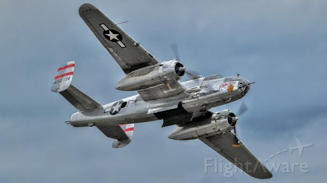 North American TB-25 Mitchell (N9079Z) - B25 Panchito at the 2021 New York Airshow