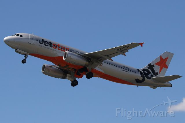 Airbus A320 (VH-VGY) - on 10 January 2019
